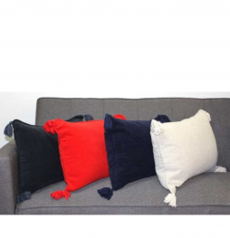 Chenille Beige Cushion Cover 40x55cm