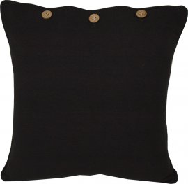 Black Scatter Cushion Cover 40x40cm