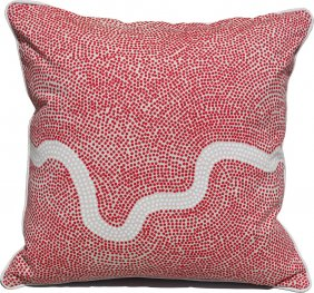 River Red Scatter Cushion Cover 40x40cm
