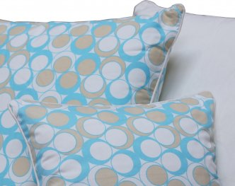 Neea Milky Blue 40x40cm Cushion Cover