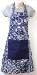 Blue Tile Apron
