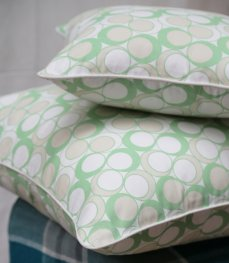 Neea Green Euro 60x60cm Cushion Cover