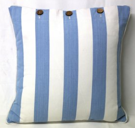Bay Stripe Scatter Cushion Cover 40x40cm