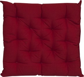 Reddy Red Chair Pad 40x40cm