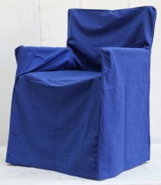 Trend Blue Chair Cover