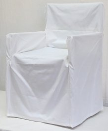 Trend Off White Chair Cover